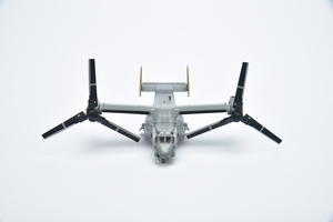 Image 5 - 1:144 V22 Osprey Tilting Rotary Wing Helicopter Model Toy Alloy Finished Military Gift Ornaments Toys For Children Gifts