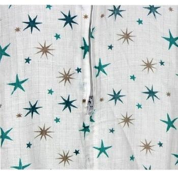 100% Muslin Cotton Baby Thin Sleeping Bag For Summer Baby Sleeveless Sleepsacks Saco De Dormir Para Bebe Sacks KF484 1