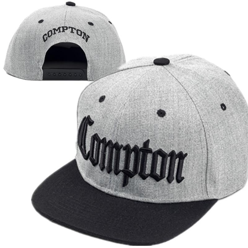 2017 Nuevo Compton bordado béisbol sombreros moda ajustable algodón hombres  gorras Traker sombrero mujeres sombreros hop snapback gorra verano en Gorras  de ... 8a98512e0ae