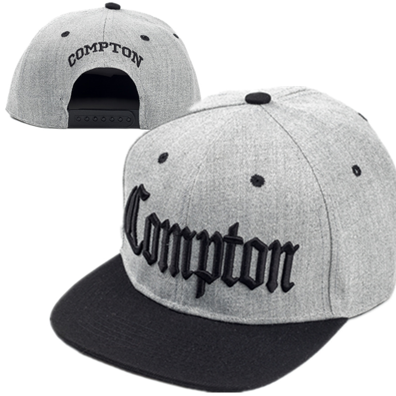 2017 New Compton Embroidery Baseball Hats Fashion Adjustable Cotton Men Caps Traker Hat Women Hats Hop Snapback Cap Summer