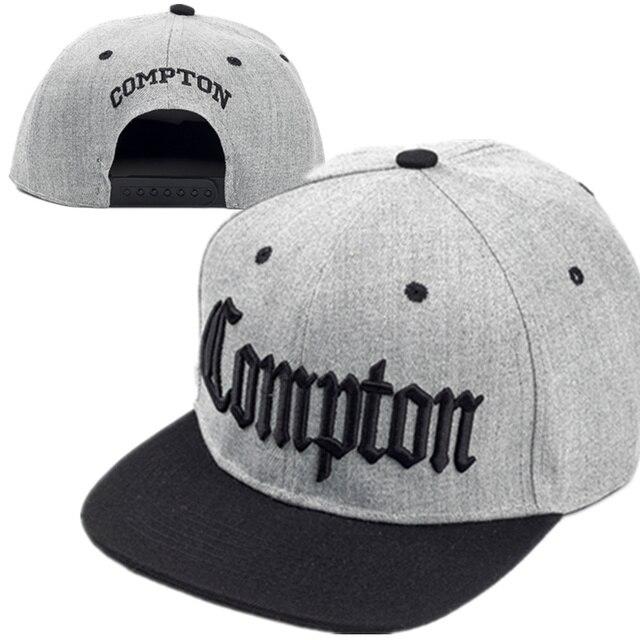 0d813f6a718 2017 new Compton embroidery baseball Hats Fashion adjustable Cotton Men Caps  Traker Hat Women Hats hop snapback Cap Summer