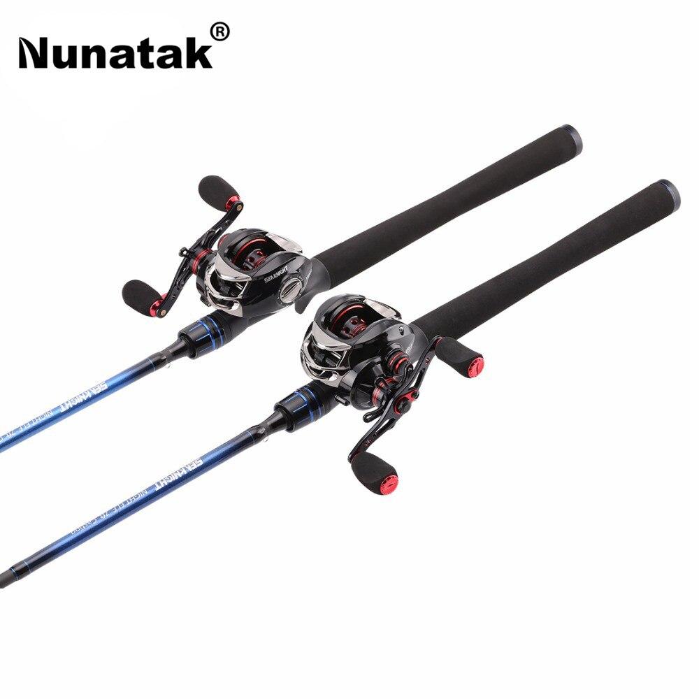 Nunatak Carbon Fiber Combo Fishing Rod NEC L / ML with Baitcasting Reel 11 + BB VIPER Fishing Wheel Max Drag 7.5 KG монитор nec 30 multisync pa302w sv2 pa302w sv2