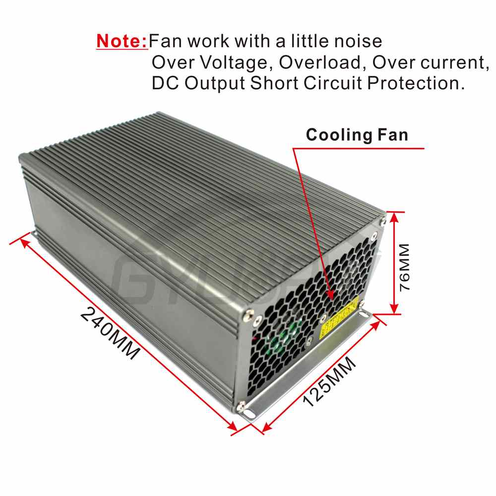 Single Output Switching power supply 1500W DC90V 16.7A smps ...