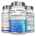100% Pure Garcinia Cambogia Extracto De HCA-180 Tapas Vegetarianas Supresor Del Apetito Natural y Suplemento Dietético