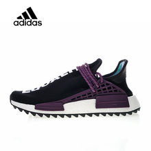 402ddc5cdeb0 Original Adidas Authentic Official Hu Trail Holi Pack x Pharrell Men s  Women s Running Shoes Sport Sneakers