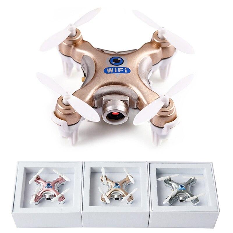 Cheerson cx-10w cx10w wifi fpv rc drone con 720 p 0.3mp cámara Flip 3D 4CH CX10