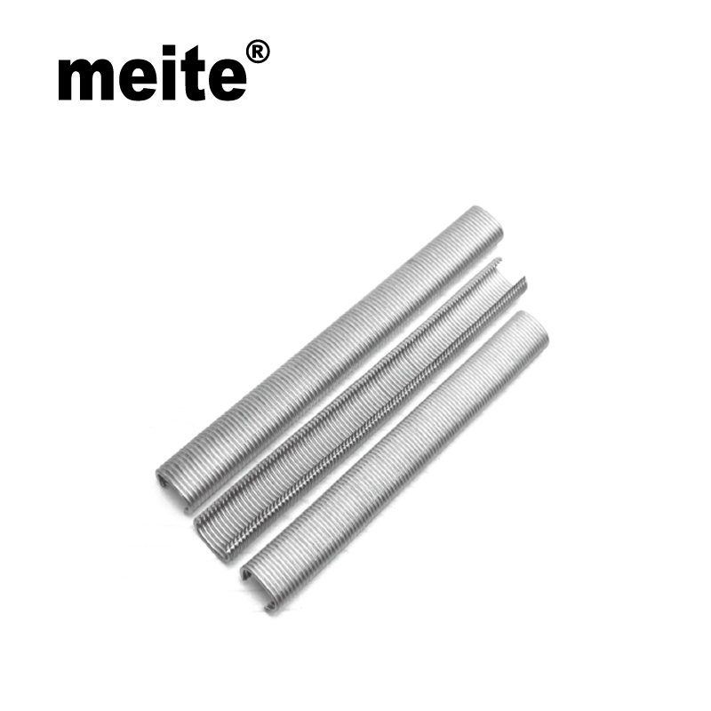 Meite C Ring Staples 15GA Wire Diameter 1.8mm Crown 19mm Galvanized Silver For SC7C, SC7E, SC77XE C Ring Plier Jun.14 Update