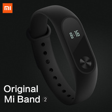 Xiaomi MiBand 2 Pulse Smart Sport Sleep Heart Rate Monitor Fitness Tracker IP67 Waterproof Strap Bracelet
