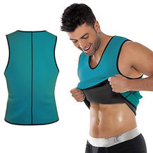 Waist Shaper Neoprene Slimming Vest Shapewear Men Sweat Quick Dry Sports Speed Wicking Clothes Corset Weight Loss Blouse