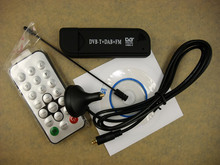 2015 hot  DVB-T Smart TV Dongle Receiver Digital Media Player Support DVB-T FM DAB SDR ON your PC and laptop