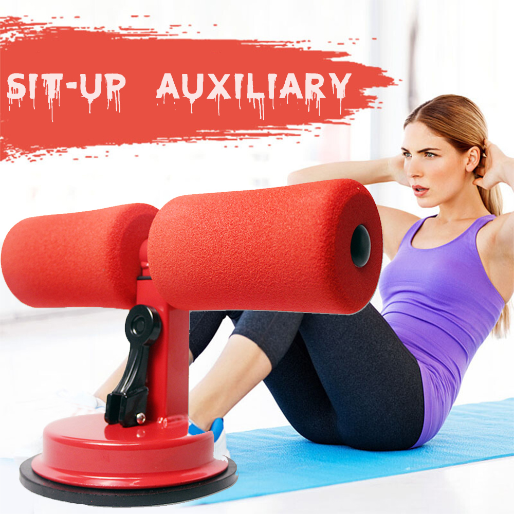 Fitness Sit ups Training equipment Sit Ups Abdominal Exercise Ab roller Suction cup Home abdomen Fitness Auxiliary Sit Ups tools in Ab Rollers from Sports Entertainment