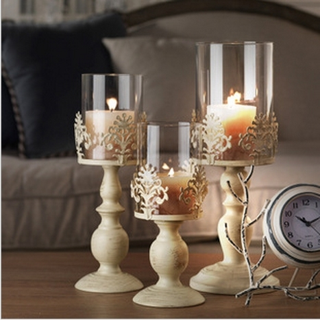 Continental Iron Candlestick Hotel Cafe Creative Decorative Home Accessories Wedding Candles Romantic Candlelight Decoration