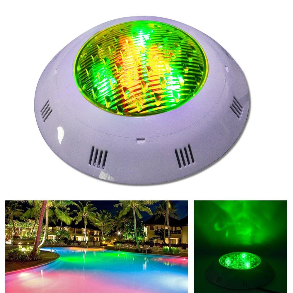 Jiawen LED Underwater Lights DMX512 RGB LED Swimming Pool Light 12W 9W  DC12 24V light underwater light led light led light - title=