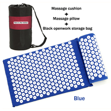 купить Massager Pillow Cushion Shakti Relieve Acupressure Mat Body Pain Acupuncture Spike Yoga Mat Massage & Relaxation Foot Massager по цене 448.75 рублей
