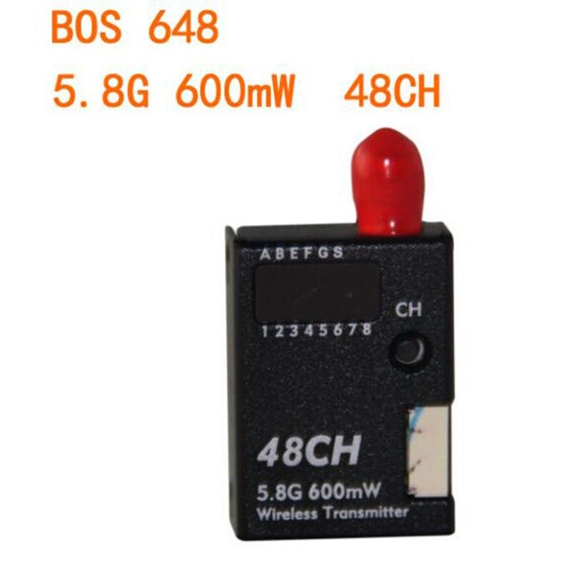 BOSCAM BOS648 5 8G 600mW 48CH Wireless FPV mini Transmitter Transmission for DIY font b RC