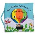 Soft Baby Book Children Kids Educational Toys Fabric Balloon Peekaboo Animals English Teach Stereo Quiet Book For Newborn Babies