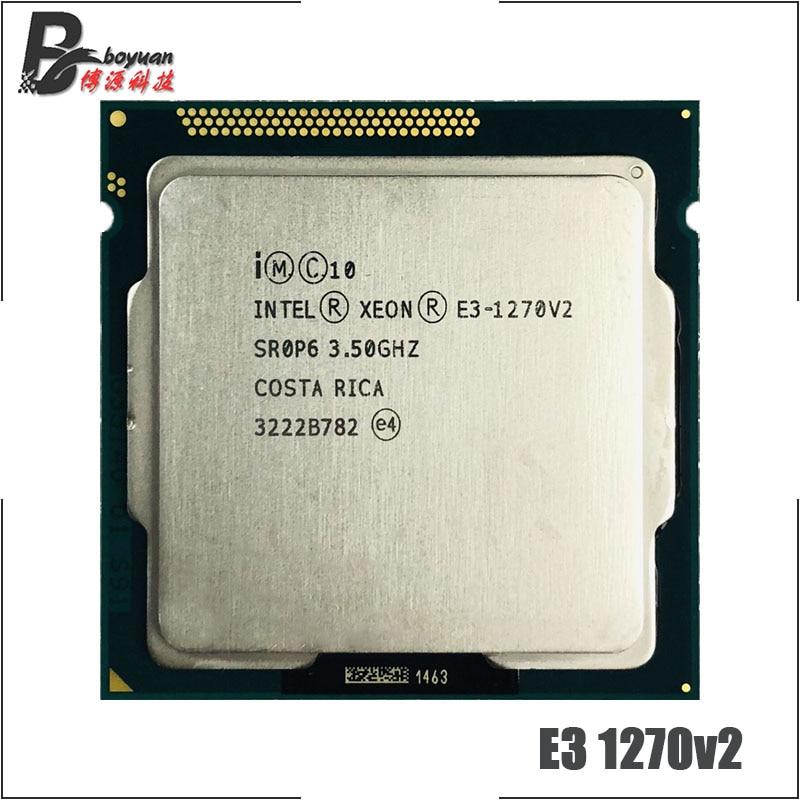 Intel Xeon E3 1270 v2 E3 1270v2 E3 1270 v2 3 5 GHz Quad Core CPU