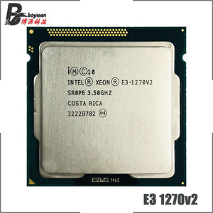 Image 1 - Intel Xeon E3 1270 v2 E3 1270v2 E3 1270 v2 3.5 GHz Quad Core CPU Processor 8M 69W LGA 1155