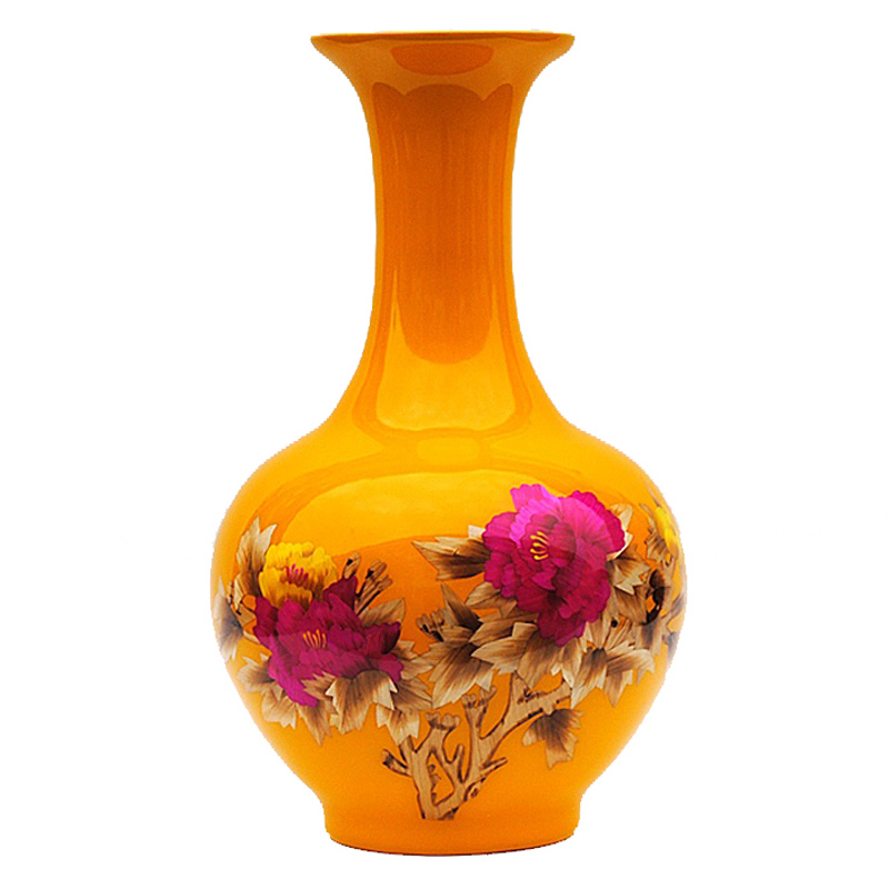 Antique Jingdezhen Ceramic Vase Wheat-straw Vase Christmas Gifts Wedding Gifts Home Decoration Handicraft Furnishing Articles