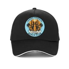 Hawaii Surf BEACH CLUB cap fashion summer surf Baseball caps Unisex adjustable Cartoon print snapback hat gorras