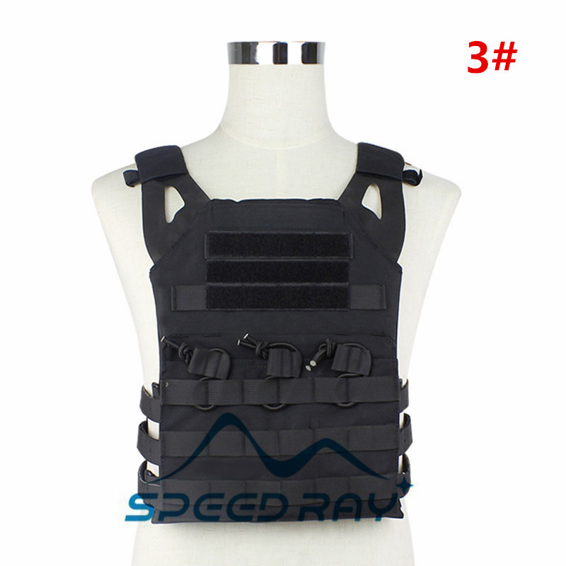 High quality Airsoft  JPC Tactical Vest Simplified Version (Multicam) Tactical Adjustable Vest Army Combat Gear