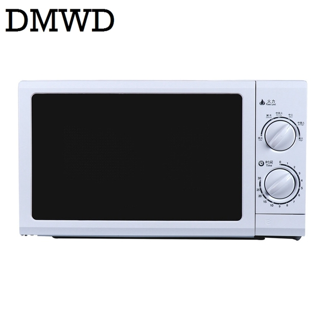 Dmwd 700w Household Microwave Oven Mini Multifunction Electirc Baking Machine 30 Minutes Mechanical Timer Control 20l