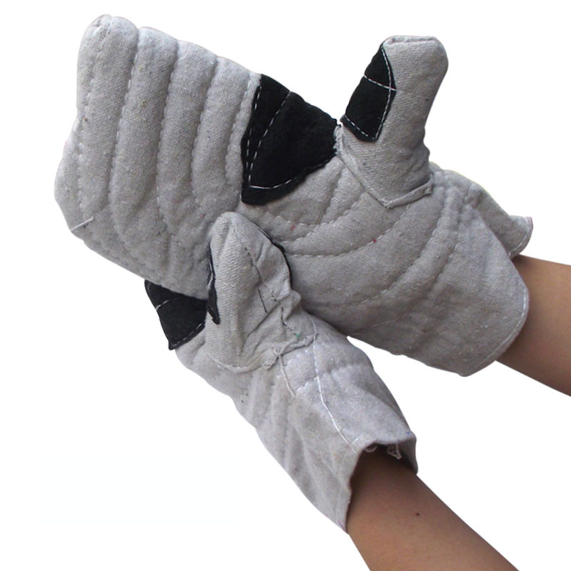 Working Gloves Thick Insulation Anti-scalding Work Gloves For Kitchen Ironmaking Boiler Metallurgical High temperature Resistant mini cnc engraving machine for sale 6090 mach 3 control system