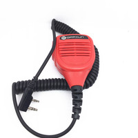 Red Hand Mike Microphone for baofeng UV5R BF888S UV6R for kenwood TK3107 TK3207 puxing PX777 radios