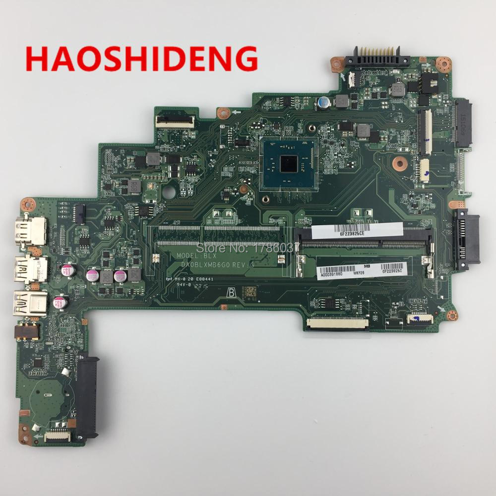 C55-C5390-Series Satellite Motherboard.all-Functions Toshiba for A000391880 DA0BLXMB6G0