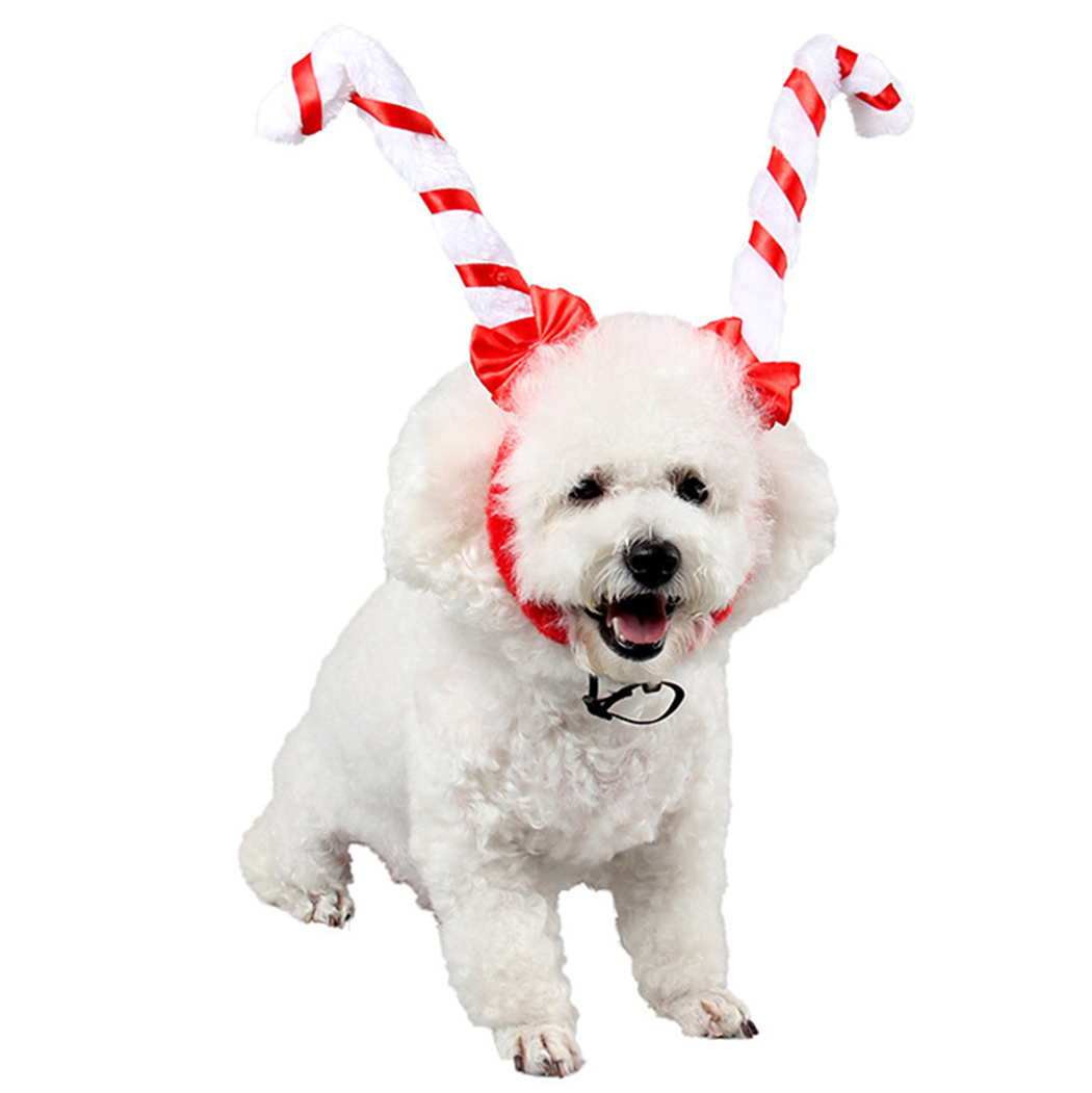 Pet Headband Cute Antler Horn Dog Headband Pet Party Headband For Christmas