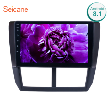 Seicane 2Din GPS Multimedia Player 9 Inch Android 10.0 Car Radio For Subaru Forester 2008 2009 2010 2011 2012 Audio Support Wifi image