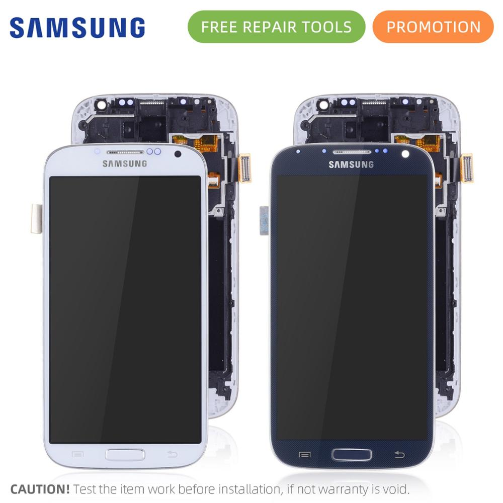 IPS LCD for Samsung Galaxy S4 lcd digitizer Touch Screen GT-i9505 i9500 i337 LCD For Samsung S4 LCD Display Replacement Parts Гриль