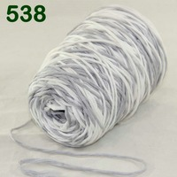 Multi color optional 1X400g soft sell high quality 100% cotton hand woven yarn D2