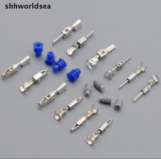 Car Electronics Accessories Shhworldsea 30pcs Connector Waterproof Ring/circle Plug Silicone Sheath,seal Caps 1.5 3.5 Serie Car Wire Spade Crimp Terminal
