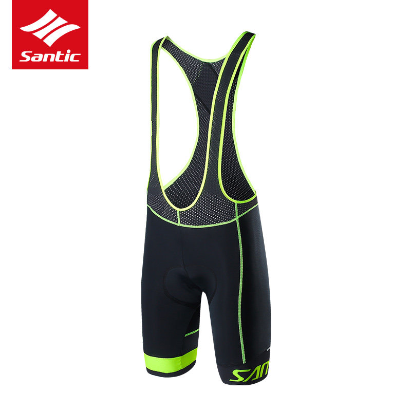 Santic Men Cycling Bib Shorts 2019 Summer  4D Italian CushionShorts - Cycling - Photo 2