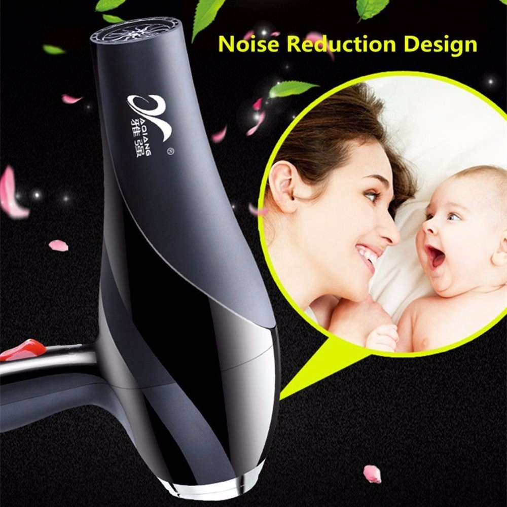 YAQIANG 220V 2000W Hair Dryer Anion Ceramic Ionic Fast Styling Blow Dryer DC Motor Salon Home Use Hair Drier in Hair Dryers from Home Appliances