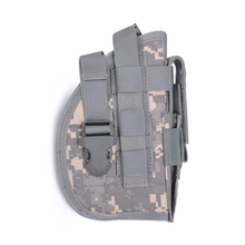 Nylon Tactical Gun Case Universal Waist Holster Pouch Military Concealment Belt Shooting Hunting Accessories
