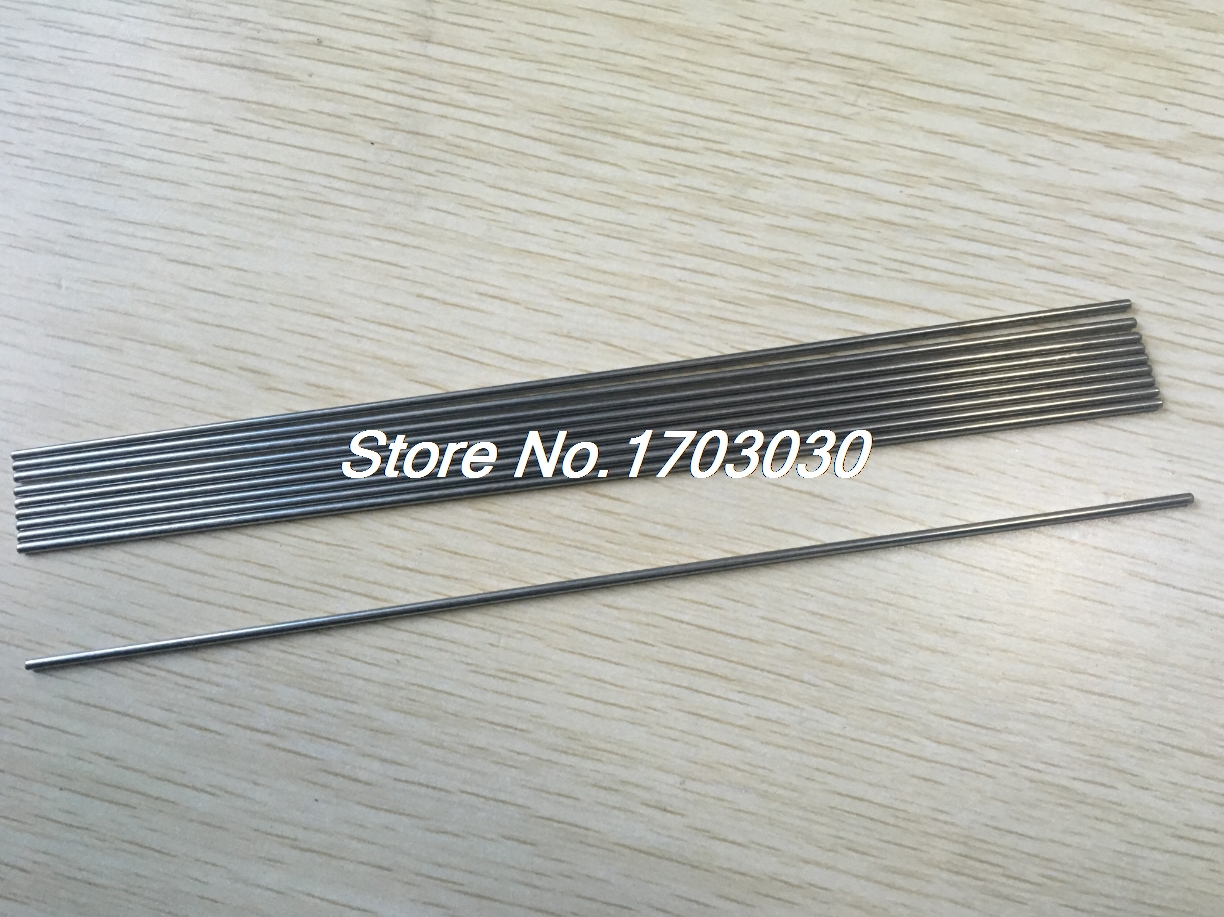 10 Pcs 300mm x 2mm Round Stainless Steel Straight Rod Bar for RC Toy Car все цены