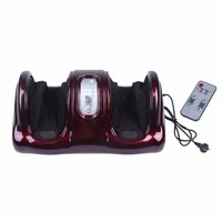 Electric Antistress Therapy Rollers Shiatsu Kneading Foot Legs Arms Massager Vibrator Foot Care Device Foot Massage Machine