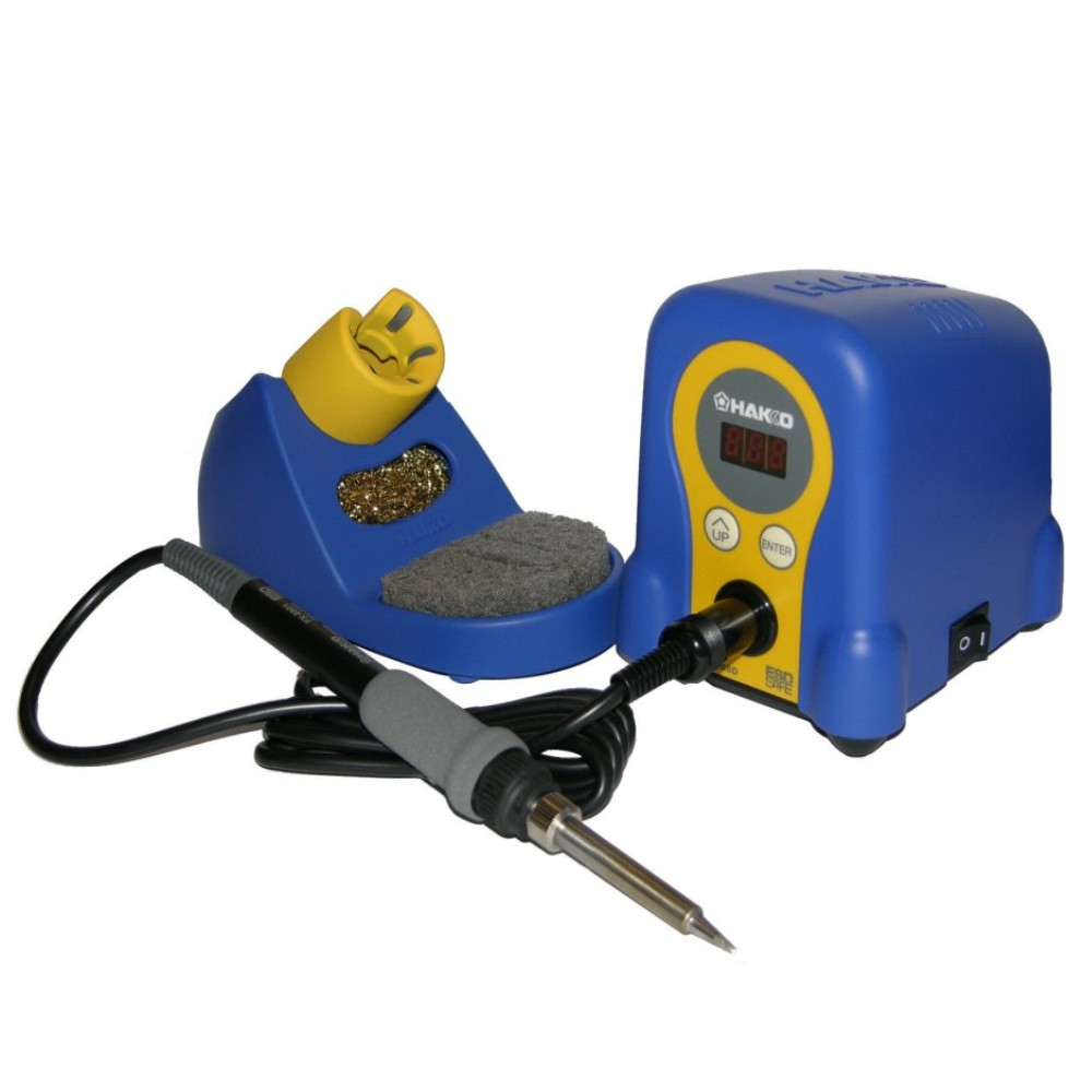 70W 220V Hakko FX888D digital display soldering station+Hakko FX8801 soldeirng iron+Hakko T18 soldering tips dhl free shipping hot sale 220v hakko fx 888 fx888 888 solder soldering iron station with 10 free tips 900m t