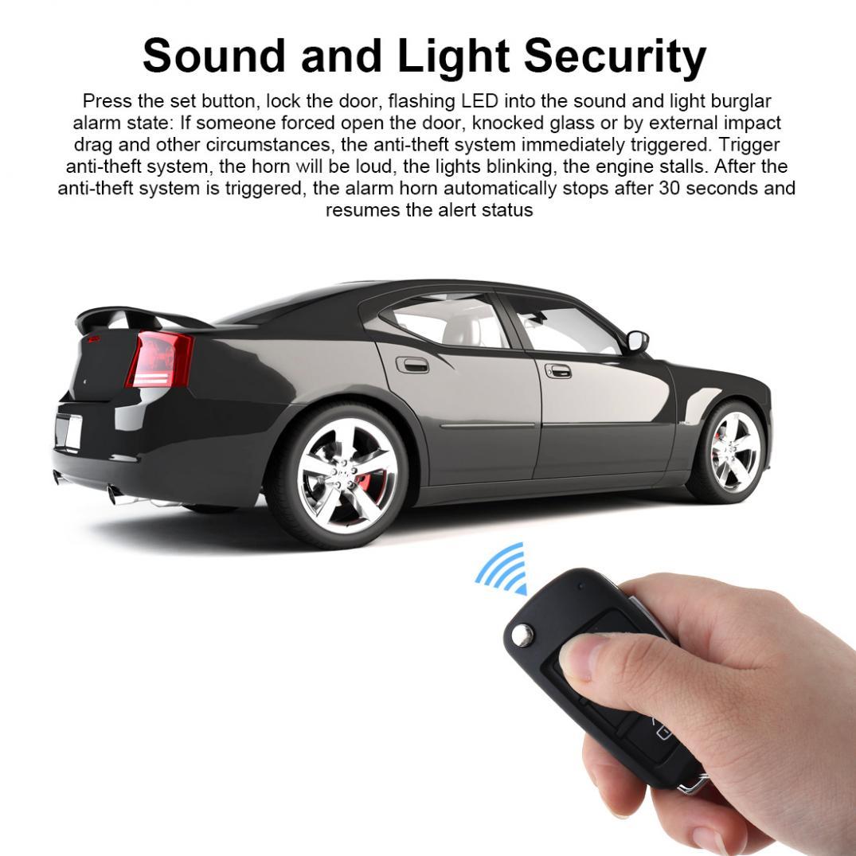 Système universel de démarrage à distance du Mini système d'alarme de voiture avec verrouillage Central automatique et entrée sans clé - 4