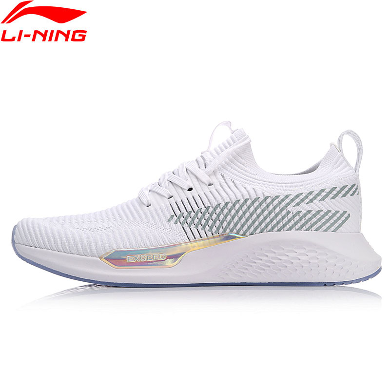 Li-Ning Men Exceed LT Walking Shoes The Trend Classic Sneakers Mono Yarn LN Cloud Support LiNing Sports Shoes AGCN035 YXB149 original li ning men professional basketball shoes