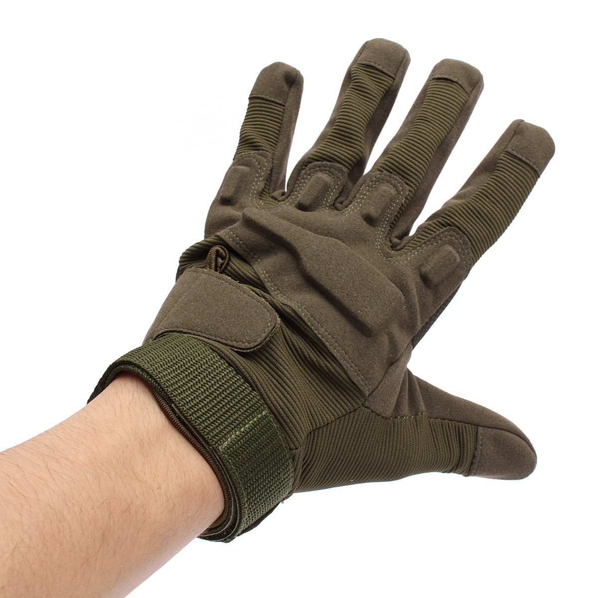 NEW Safurance Anti Slip Full Finger Outdoor Military Airsoft Hunting Cycling Tactical Gloves Workplace Safety Protection Glove esdy esdym 3 outdoor cycling anti slip breathable full finger pu tactical gloves tan m