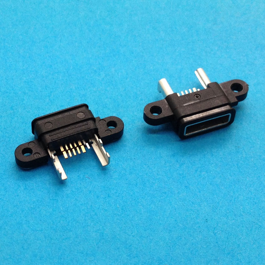 5X 100% New Mini micro USB connector jack charging port Replacement Parts for Xiaomi M4 Mi4 phone