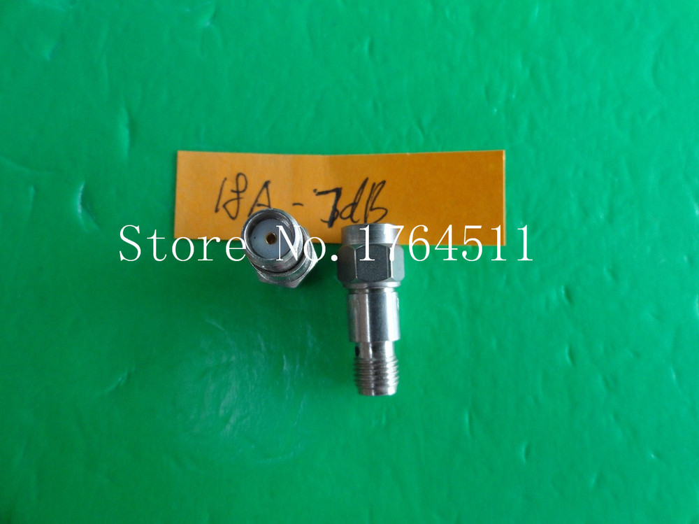 [BELLA] INMET 18A-7dB DC-18GHz Att:7dB P:2W SMA Coaxial Fixed Attenuator  --2PCS/LOT