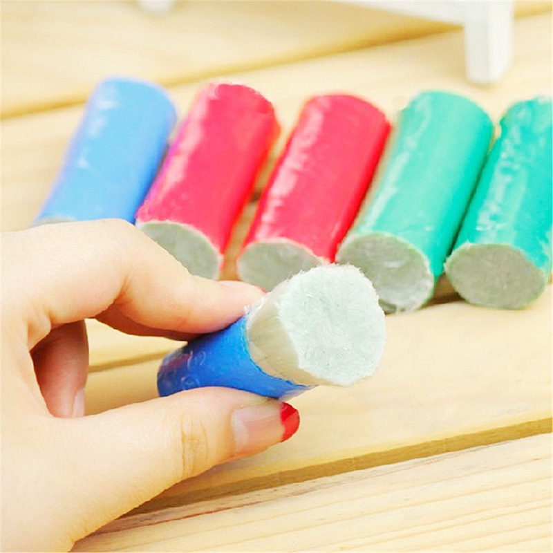 Magic Stainless Steel Kitchen Metal Rust Remover Cleaning Detergent Stick Wash Brush Pot Cookers Cleaning Tools