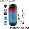 Electrónicos de Audio Altavoz Bluetooth LED luces de Pulso Portátil Soporte NFC Inalámbrica LED Colorido 360 TF Tarjeta Al Aire Libre
