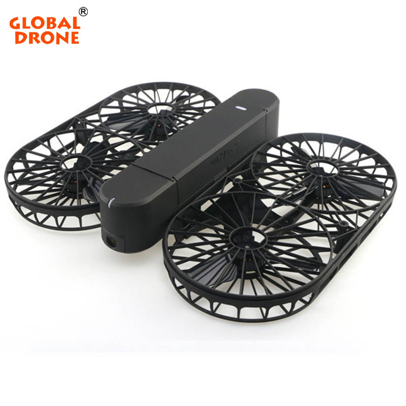 Global Drone Foldable Drone Pocket Drone Professional Drone with Brushless Motor RC Quadcopter with 4K HD WIFI FPV Camera drone with camera rc plane qav 250 carbon frame f3 flight controller emax rs2205 2300kv motor fiber mini quadcopter