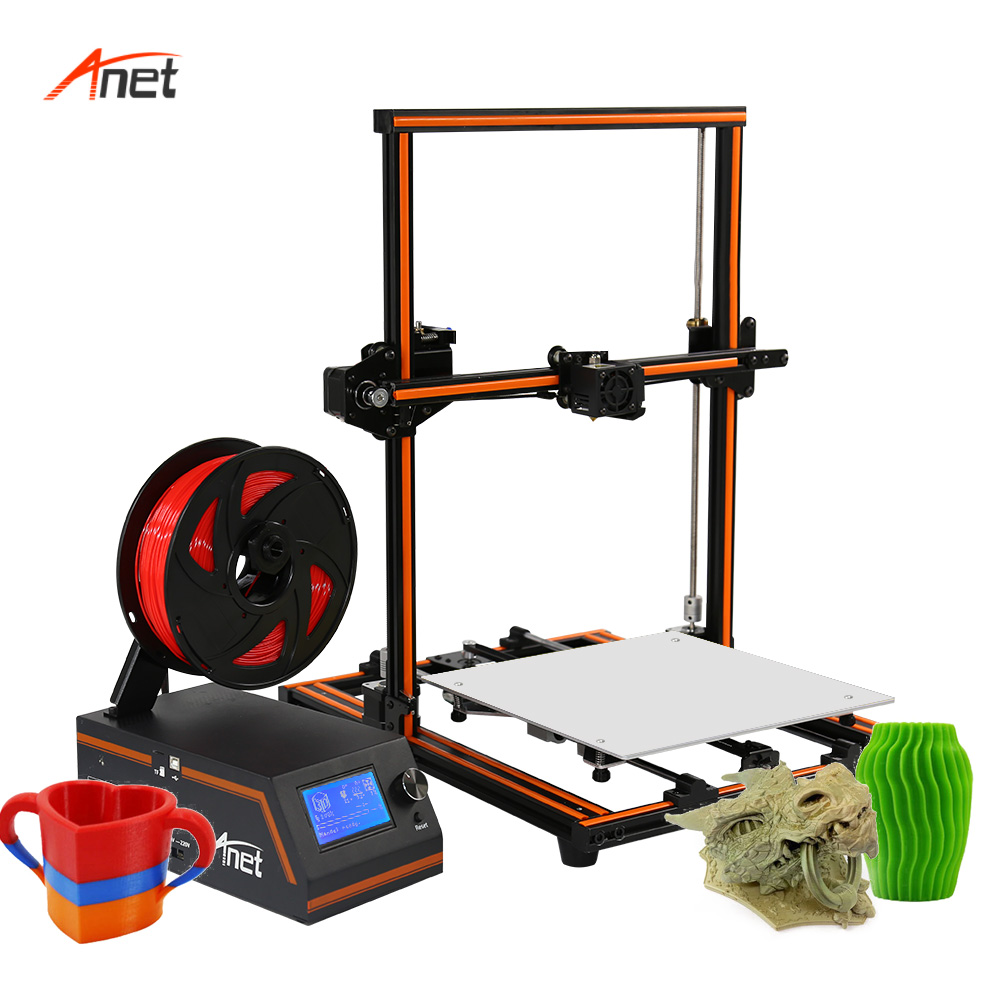 Anet E12 300 300 400mm Printing Plus Size House Hold 3d Printer 8GB SD Card as