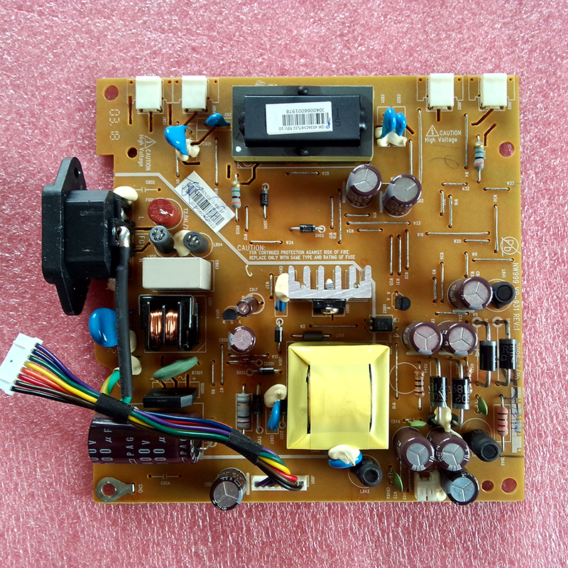 Original 1940WCXM four lamp small mouth power supply board NW999 VP-931 REV:1 L195H0 free shipping 1940wcxm power board l195h0 nw999 vp 931 original 100% tested working